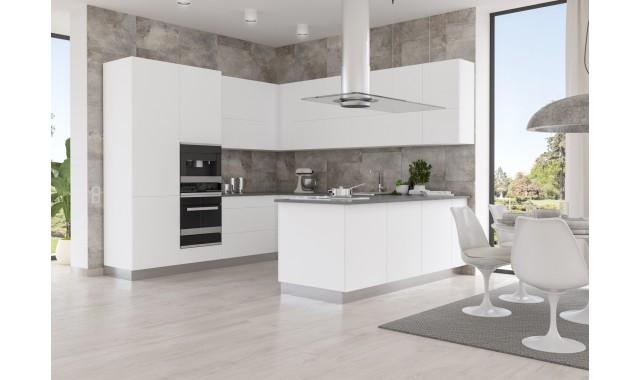 Кухонные фасады Brilliant Matt Bianco