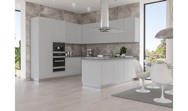 Кухонные фасады Brilliant matt Cemento