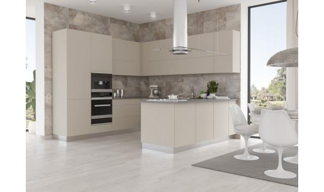 Фасады для кухни Crystal matt Sabbia