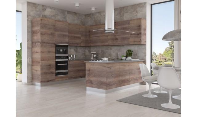 Инновационный фасад для кухни Terra Decor Дуб версаль ALV4588