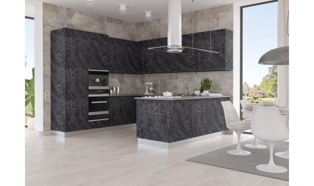 Инновационные фасады для кухни REHAU Terra Decor Lapideo