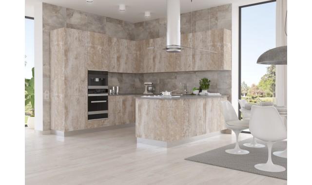 Инновационные фасады для кухни Terra Decor Legno Avana