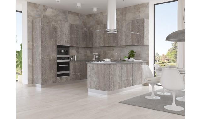 Инновационные фасады для кухни Terra Decor Legno bigio 2374L