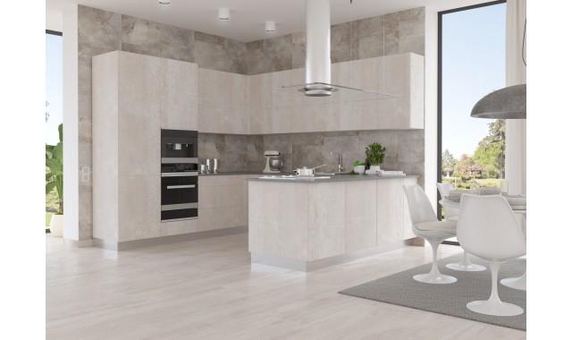 Инновационные фасады для кухни Terra Decor Legno blanco