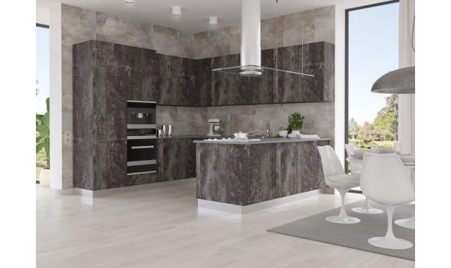Инновационные фасады для кухни Terra Decor Legno morato