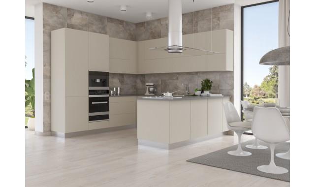 Инновационный фасад для кухни Velluto Beige Luxor 0719