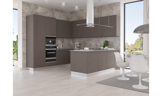 Инновационный фасад для кухни Velluto Bronzo Doha 2629