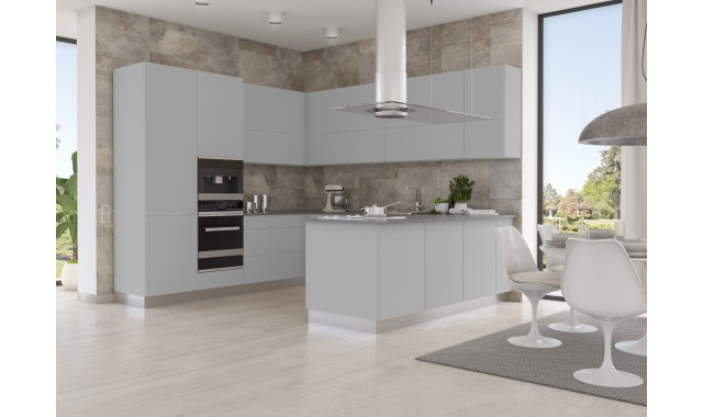 Инновационный фасад для кухни Velluto Grigio Efeso 0725