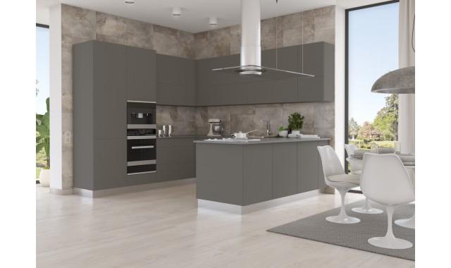 Инновационный фасад для кухни Velluto Grigio Londra 0718