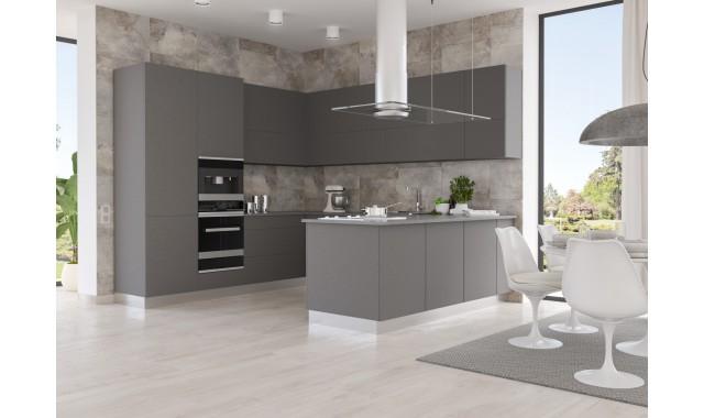 Инновационный фасад для кухни Velluto Titanio Doha 2638