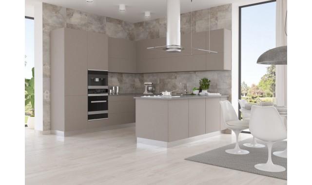 Инновационный фасад для кухни Velluto Zinco Doha 2628