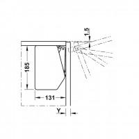 Подъемный механизм для фасада Free flap 3.15