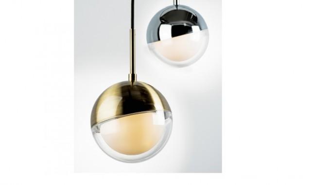 Люстра подвесная без лампы Lightstar 815511 DAFNE 1х5W G9 латунь