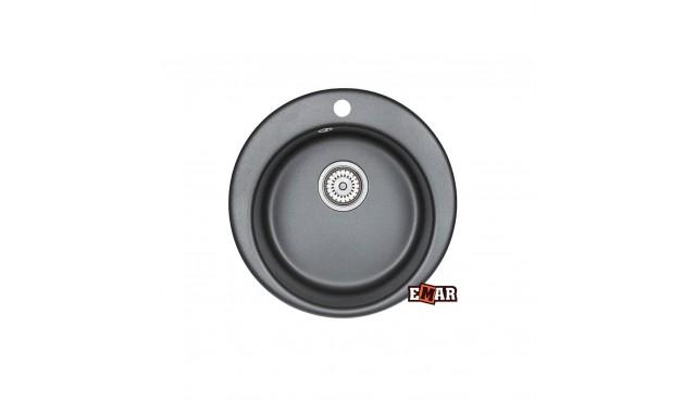 Мойка врезная кухонная EMAR EM-4801 Графит