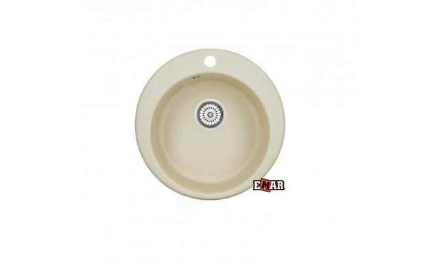 Мойка врезная кухонная EMAR EMQ-1475.C Цитрин