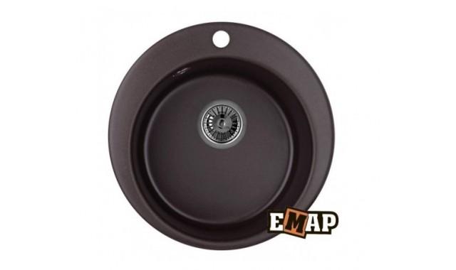 Мойка врезная кухонная EMAR EMQ-1475.C Опал