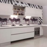 Стеклянные фартуки для кухни
