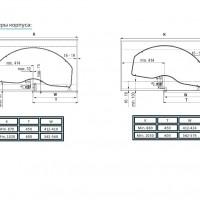 CORNERSTONE Swing Basic 450 мм в угловой модуль 900 мм